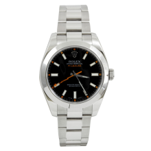 Rolex Mens Milgauss - Stainless Steel Black Dial 116400 40MM Display Model