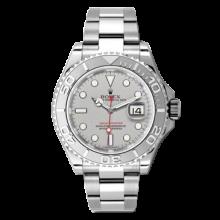 Rolex Mens 116622 Yachtmaster - Platinum Dial - Platinum Bezel - Oyster Band
