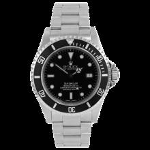 Rolex Mens Sea Dweller - Stainless Steel Black Dial & Bezel 16600 Model