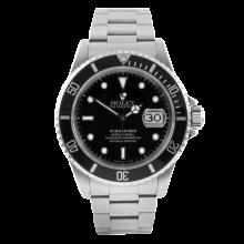Rolex Mens Submariner - Stainless Steel Black Dial & Bezel 16610 1990's Model