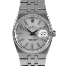 Rolex Mens Stainless Steel Quartz Datejust - with Silver Stick Dial- 17014 Model