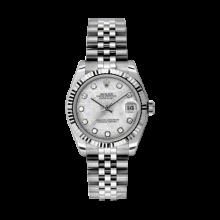 Rolex Datejust Stainless Steel - Meteorite Diamond Dial - 18K Fluted Bezel - Jubilee Bracelet 31 MM 178274